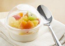 Pudding owocowa sałatka Zdjęcie Royalty Free
