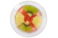 Pudding owocowa sałatka Obrazy Stock