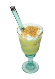 Pudding-Parfait Stockfoto