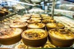 Pudding Sutlac/des Reises/türkischer Nachtisch Stockfoto