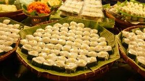 Pudding thaï Photographie stock