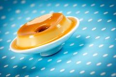 Pudding, wyśmienicie deser zdjęcia royalty free