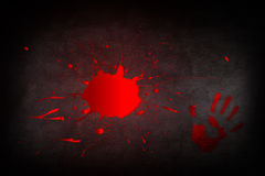 Puddle of blood Royalty Free Stock Photos