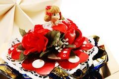 pudełek czekolad czerepu biżuteria Fotografia Royalty Free