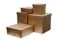 pudełek grupy teraźniejszość Zdjęcia Stock