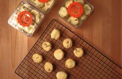 Pudełka ciastka jako prezenty dla pomyślnych powodów Fotografia Royalty Free