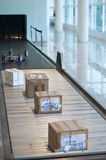 pudełka dostarczający Zdjęcie Royalty Free