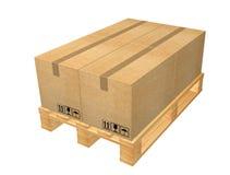 pudełka kopiują barłogu część serii przestrzeni magazyn Obrazy Royalty Free