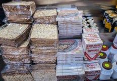 Pudełka Koszerni dla Passover Matzot, dla sprzedaży fotografia royalty free