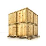 pudełka na barłogu Obraz Stock
