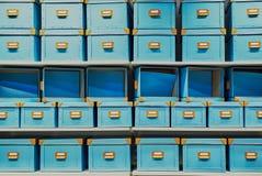 pudełka opróżniają Obraz Royalty Free