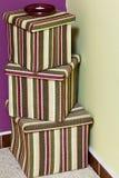 pudełka przedstawiają Obraz Stock
