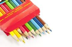 pudełko barwiący koło zdjęcie royalty free