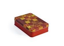 pudełko barwiący metal Obraz Royalty Free