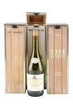 Pudełko dla przechować wino Projekt Zdjęcia Stock