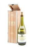 Pudełko dla przechować wino Projekt Zdjęcie Stock