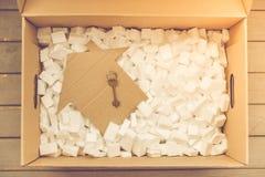 Pudełko dla ruszać się Obrazy Stock