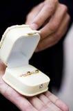 pudełko dzwoni ślub Zdjęcie Stock
