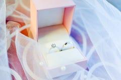 pudełko dzwoni ślub Zdjęcia Stock