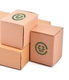 pudełko stos Zdjęcie Stock