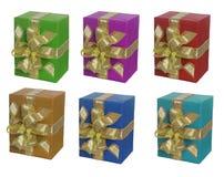 pudełko sześć Zdjęcia Royalty Free