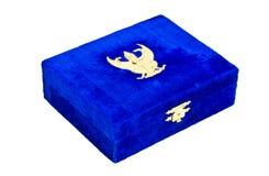 pudełko ukuwać nazwę insygnię Obrazy Royalty Free