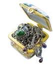 Pudełko z biżuterią Fotografia Stock