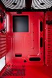 Pudełko z elektronika zdjęcie royalty free