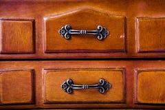 Pudełko z miedzianą rękojeścią Zdjęcia Stock