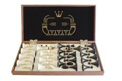 Pudełko z szachy Zdjęcia Royalty Free