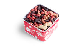 pudełkowata arachidowa czerwień obraz royalty free