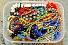 pudełkowata biżuteria Fotografia Stock