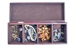 pudełkowata biżuteria Zdjęcia Royalty Free