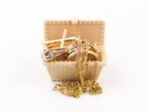 pudełkowata biżuteria Obrazy Royalty Free
