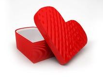 pudełkowata czerwień Obraz Royalty Free