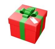 pudełkowata czerwień zdjęcie royalty free