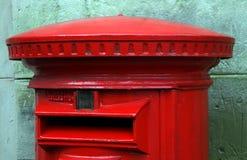 pudełkowata czerwony pocztę Zdjęcie Royalty Free