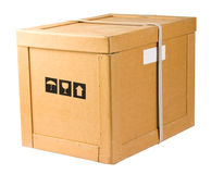 pudełkowata dostawa Zdjęcie Royalty Free
