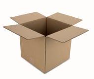 pudełkowata kartonowa ścieżka Zdjęcia Royalty Free