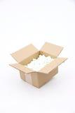 pudełkowata kartonowa wysyłka Obrazy Royalty Free