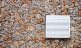 pudełkowata kontrolnego formata surowa ściana Fotografia Royalty Free