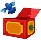 pudełkowata magia Zdjęcia Royalty Free