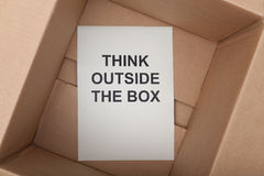 pudełkowata na zewnątrz, Obraz Royalty Free