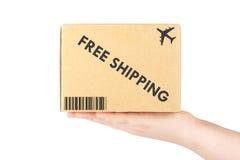 pudełkowata ręka obrazy royalty free