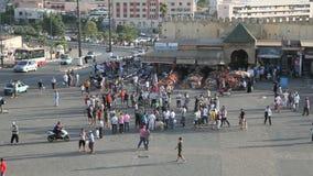 Pudełkowata rywalizacja w Meknes, Maroko Zdjęcie Royalty Free