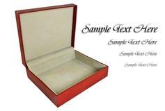 pudełkowata stara czerwień Fotografia Stock