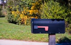 pudełkowata wiejskiej pocztę Zdjęcia Royalty Free