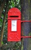 pudełkowata wiejskiej pocztę Zdjęcie Royalty Free