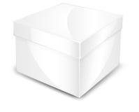pudełkowaty biel ilustracji
