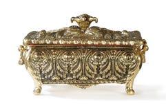 pudełkowaty brązowy luksusowy mały Zdjęcie Royalty Free